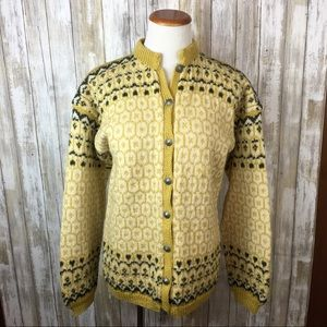 Vintage Hand Knitted Norwegian sweater